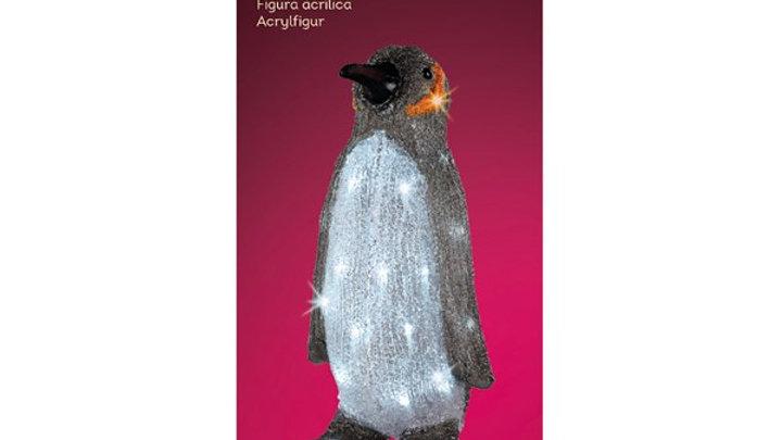 21/ LED Pingouin 43cm