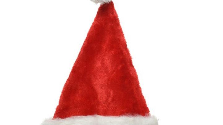23/ Bonnet Père Noël Rouge 30x44cm