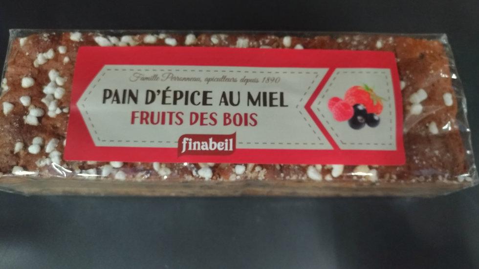 1/ Pain d'Épices aux fruits des bois 300g