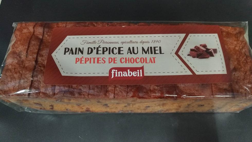8/ Pain d'Épices au Miel pépites de chocolat 300g