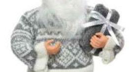 1/ Père Noël 22x10x30cm