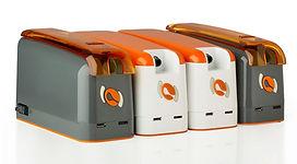 ExiGo and UniGo pumps plugged together.j
