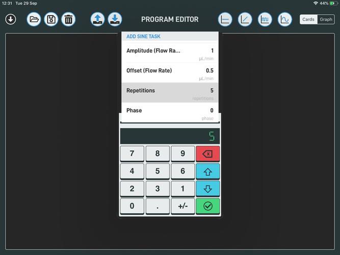 SmartFlo for iPad_Syringe and Pressure P