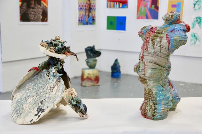 Freshman Foundations Ceramics with John