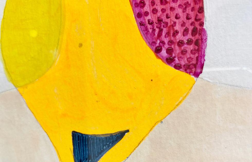 Congruence (tree detail) - Liisa Nelson