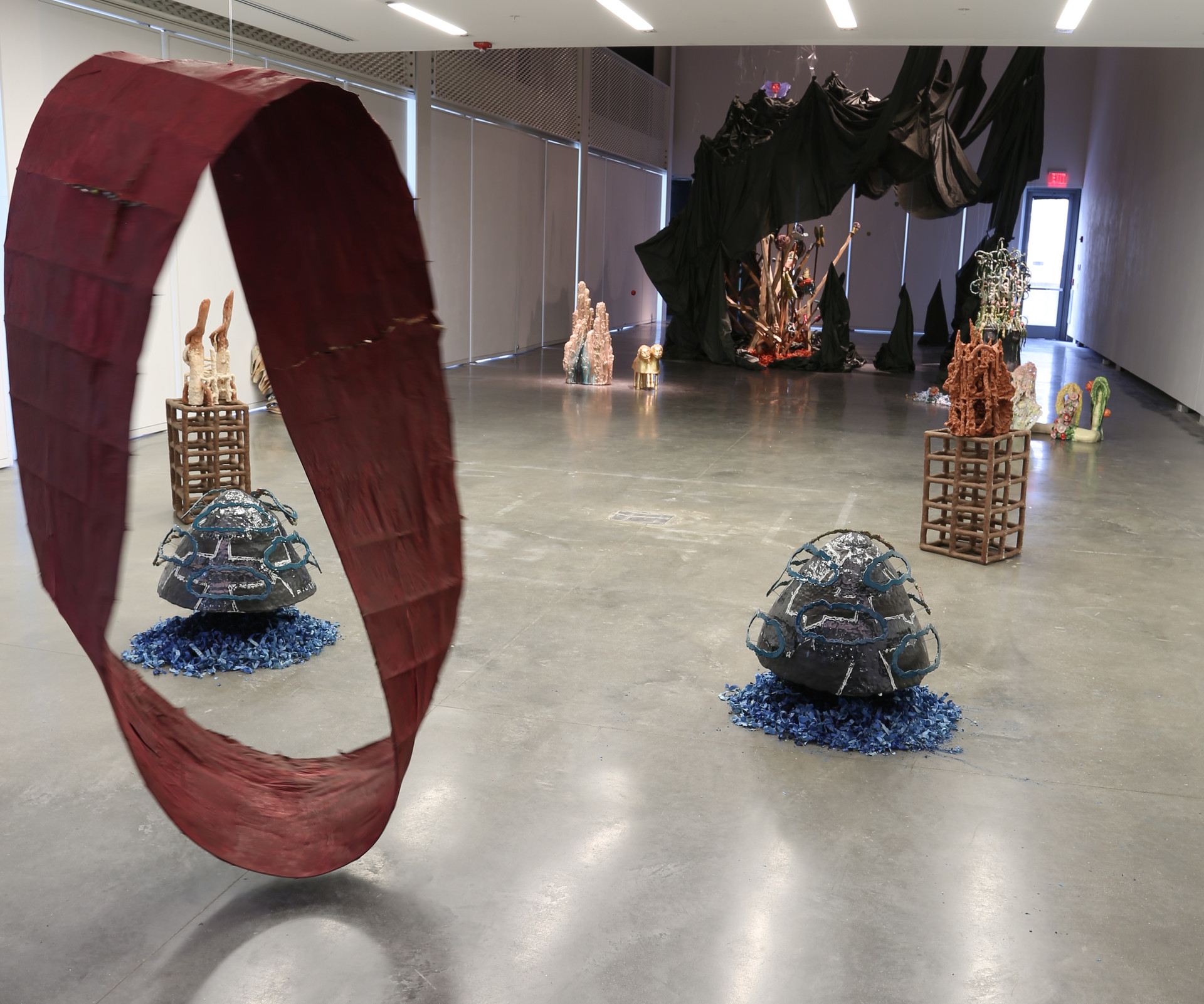 Installation View with Mobius Loop