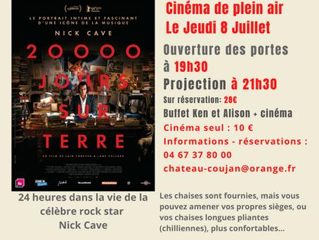 Coujan (re)fait son Cinéma Le Jeudi 8 Juillet 2021
