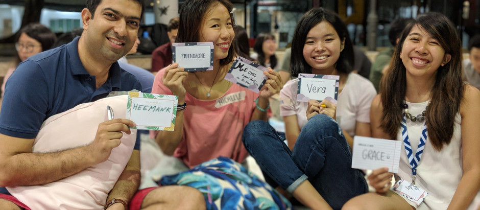 Friendzone - Fostering the kampung spirit amongst young adults