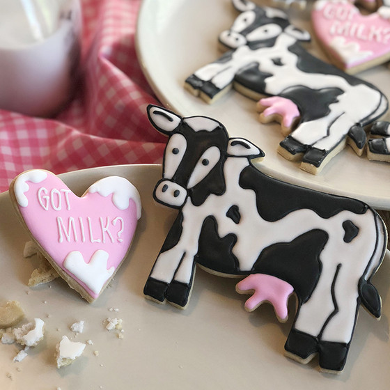 Cow Cookie Creation