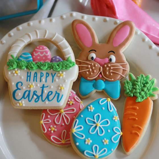 Easter Cookie Set for Decorating Class