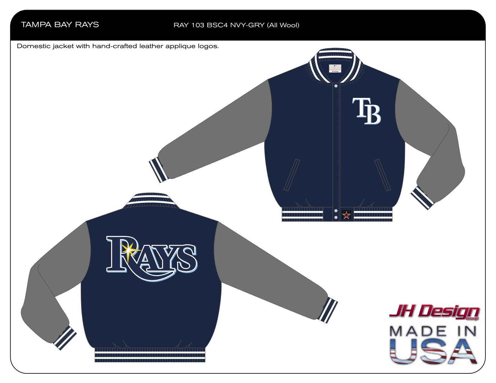 RAY 103 BSC4 NVY-GRY