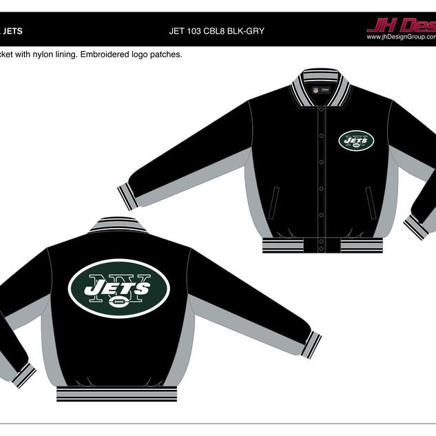 JET 103 CBL8 BLK-GRY