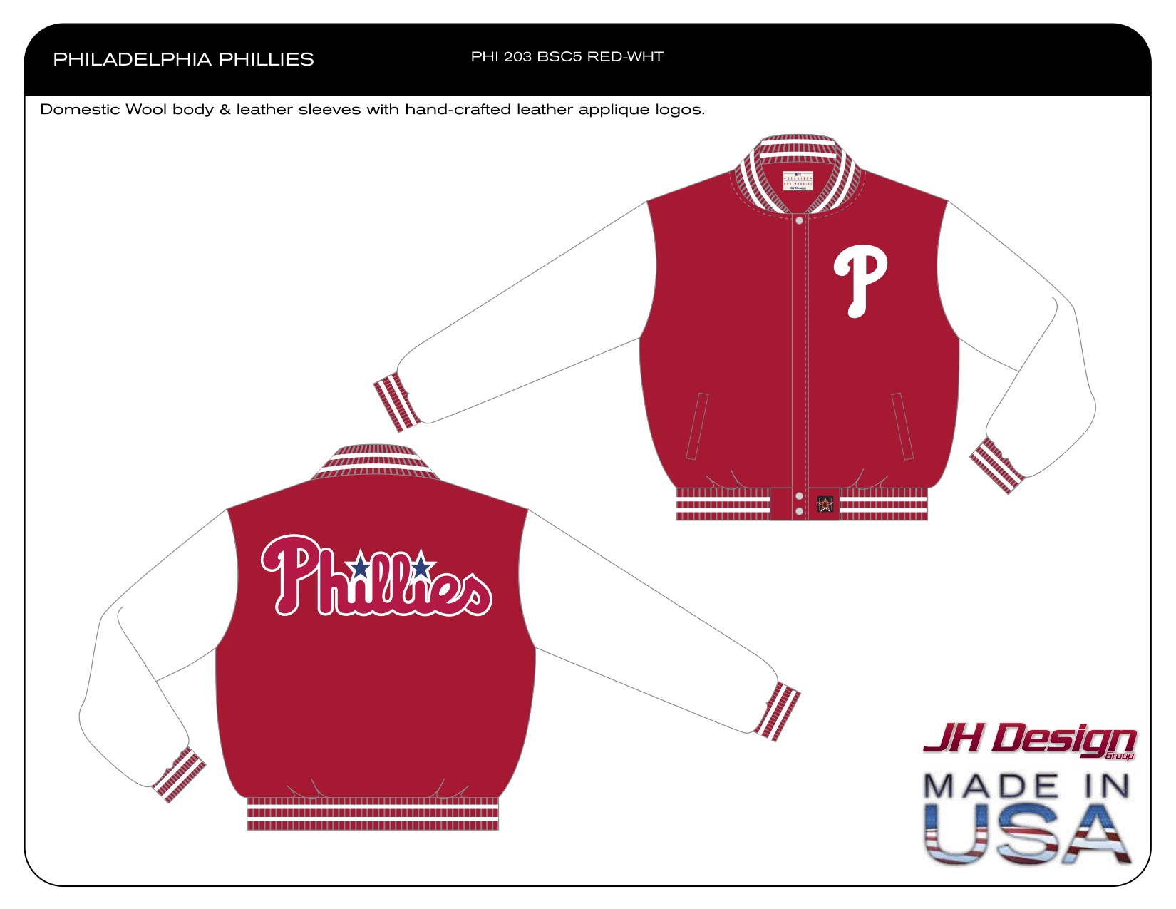 PHI 203 BSC5 RED-WHT