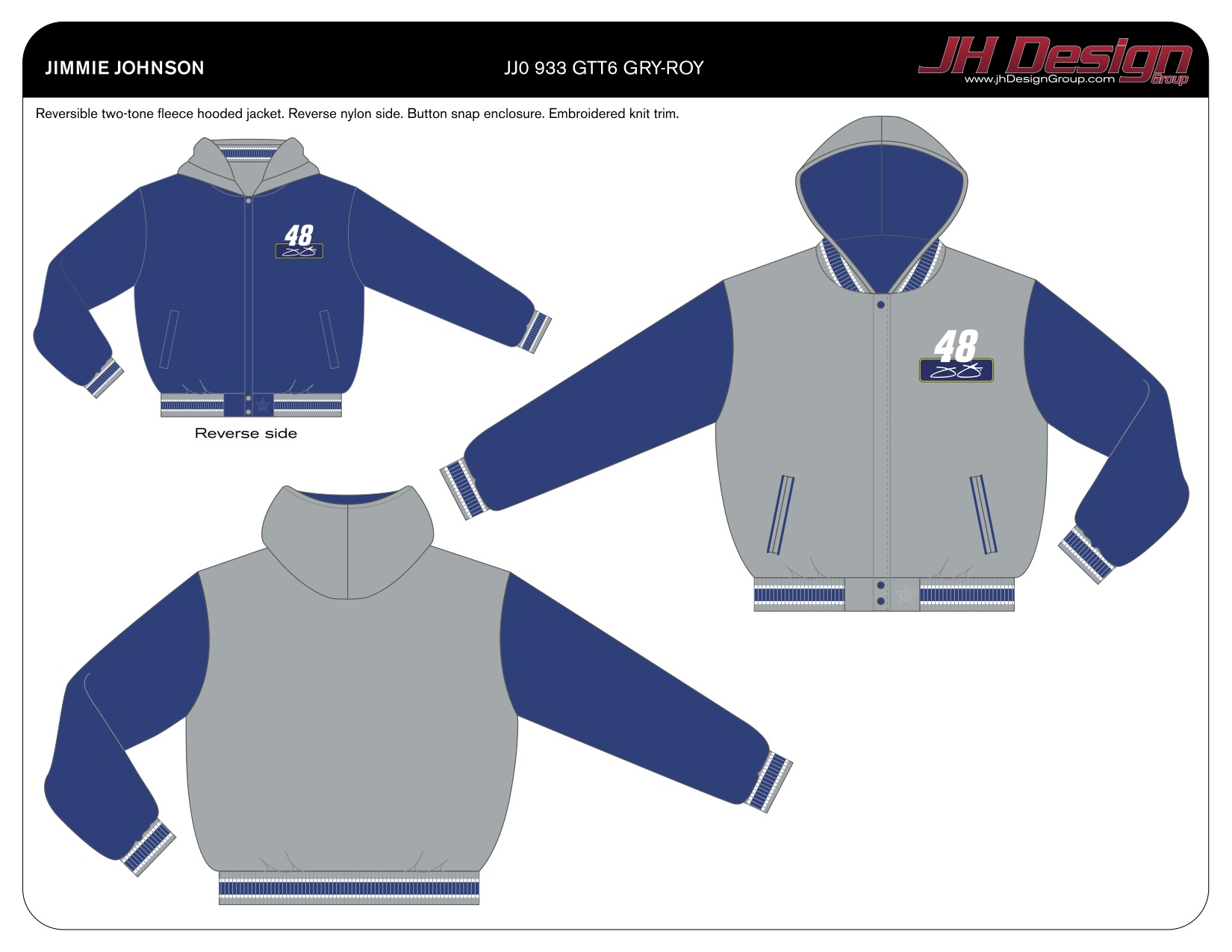 JJ0 933 GTT6 GRY-ROY