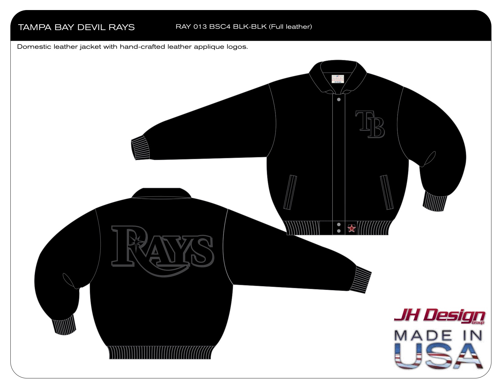 RAY 013 BSC4 BLK-BLK