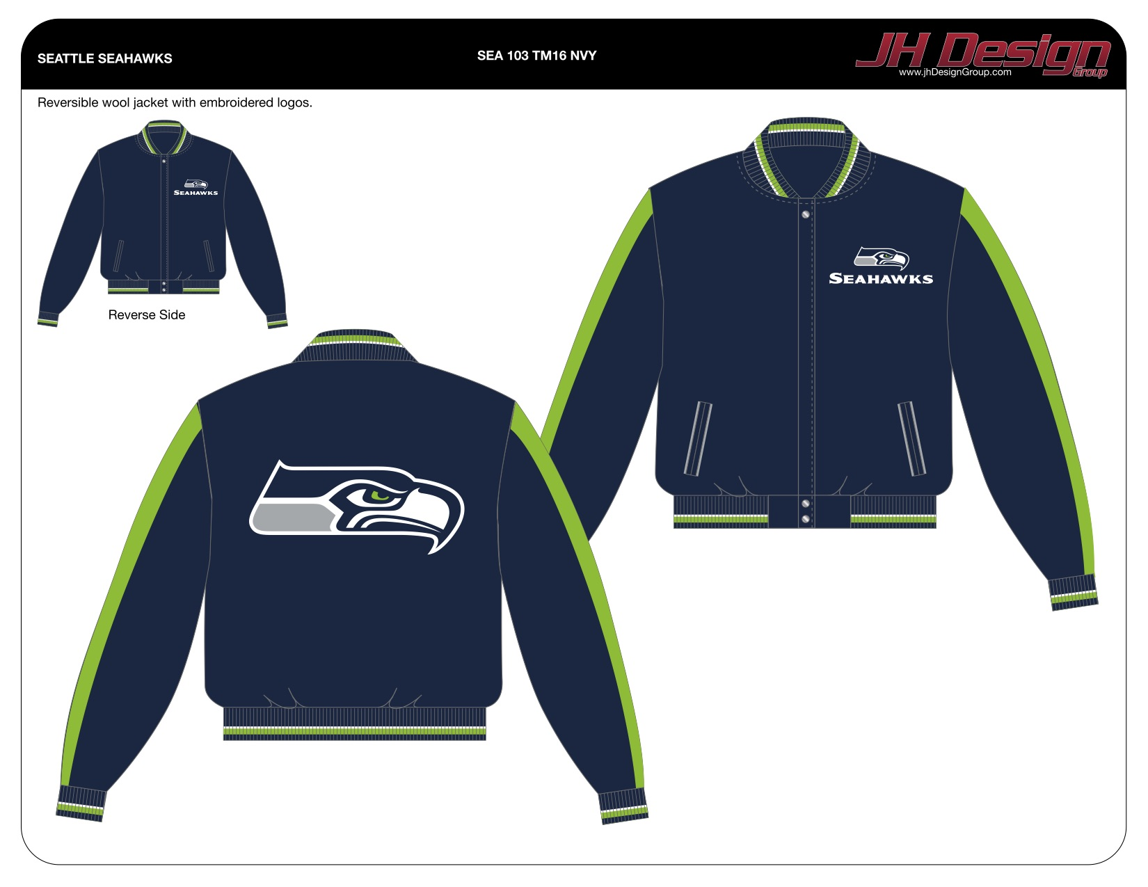 new product 56d54 5e8f7 jhdesign | Seattle Seahawks Imported