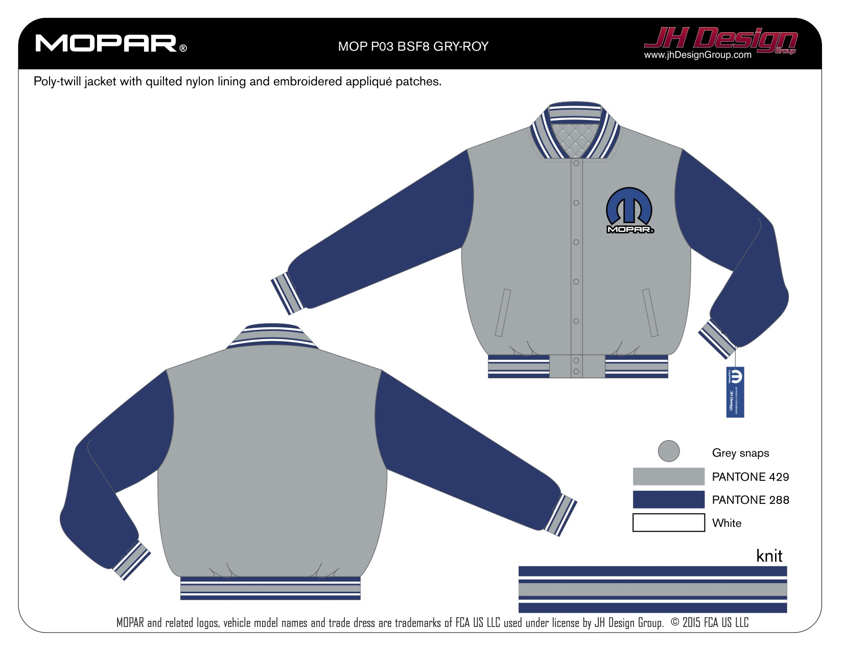 MOP P03 BSF8 GRY-ROY