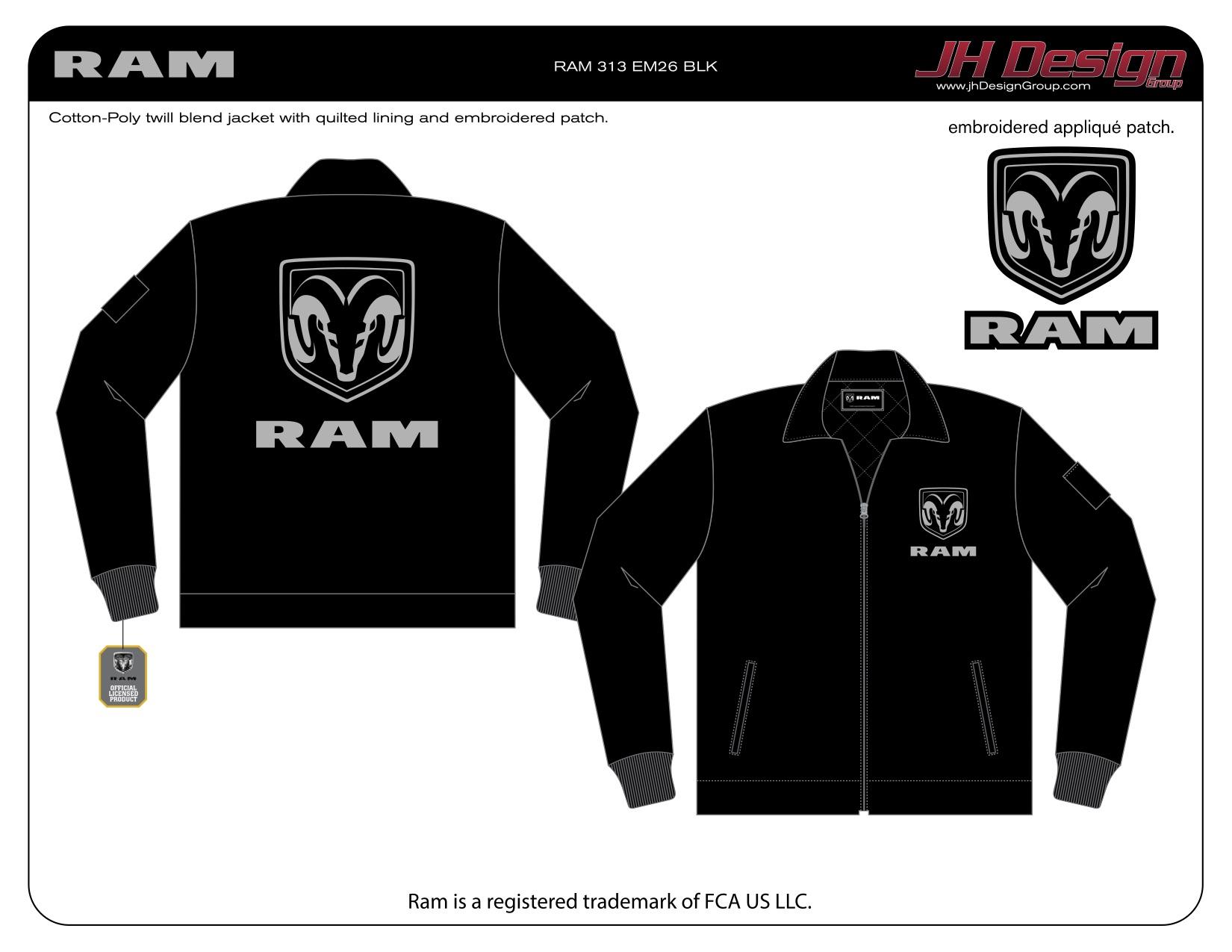 RAM 313 EM26 BLK