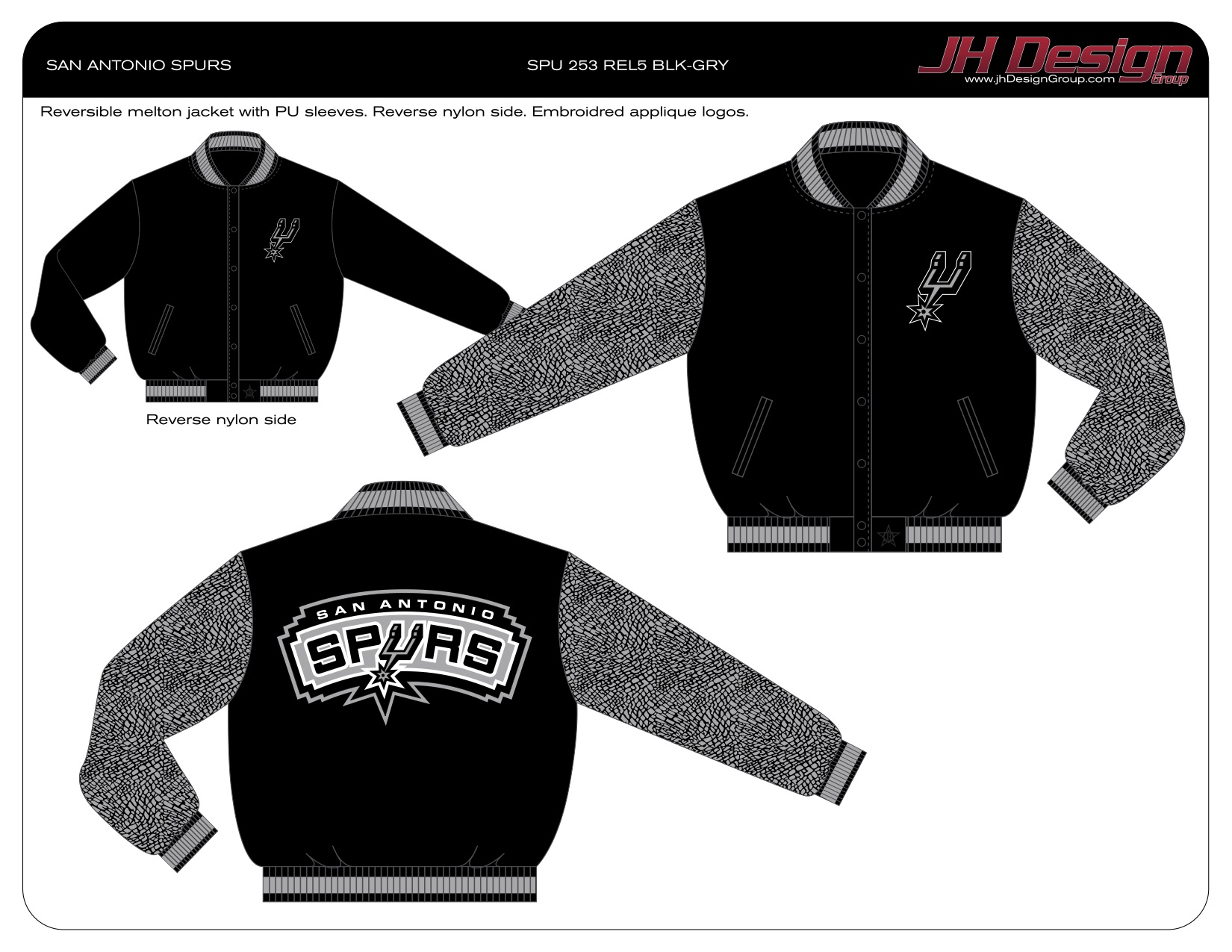 SPU 253 REL5 BLK-GRY