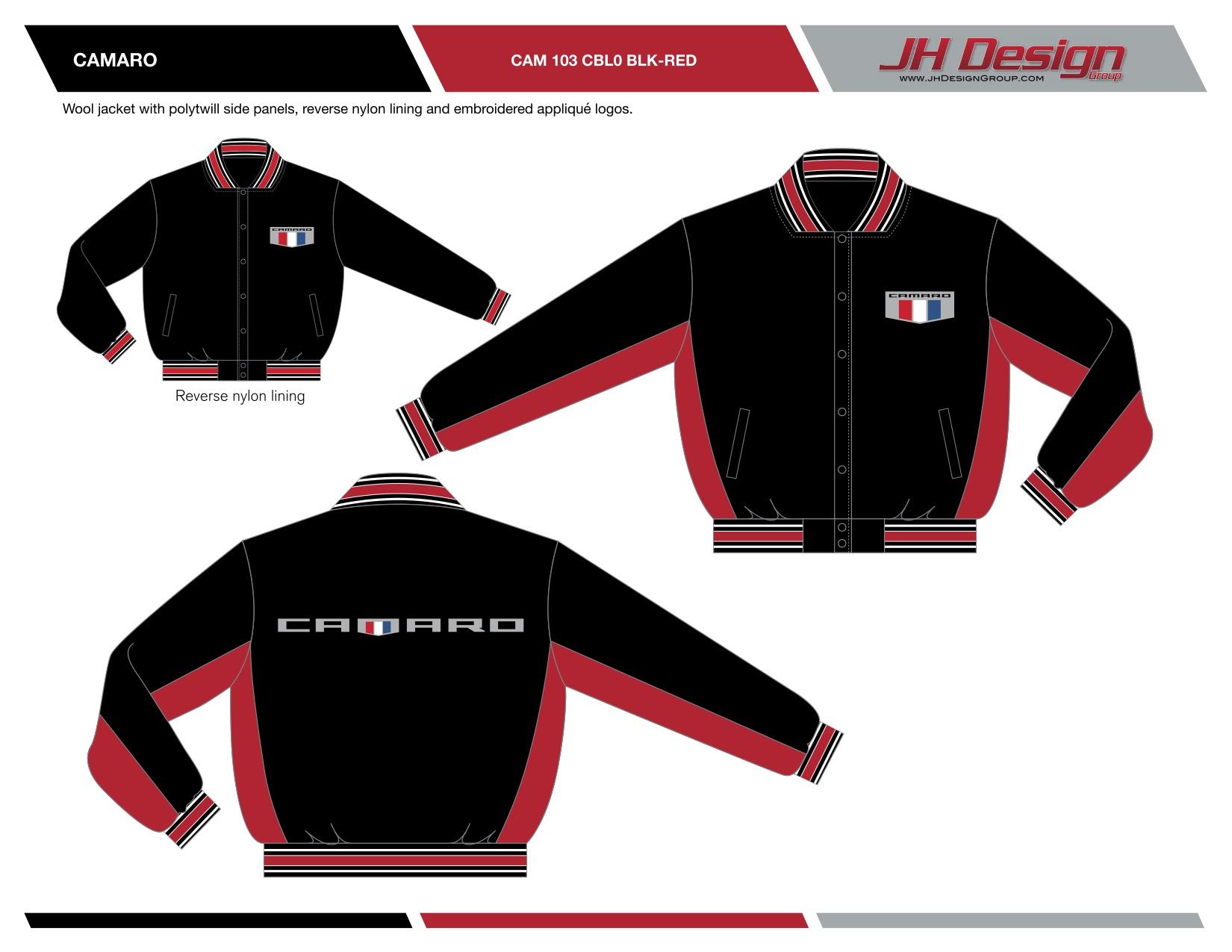 CAM 103 CBL0 BLK-RED