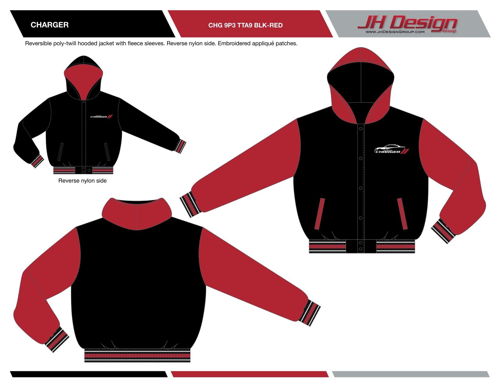 CHG 9P3 TTA9 BLK-RED
