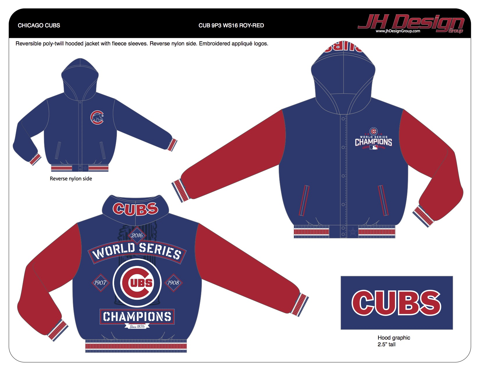 CUB 9P3 WS16 ROY-RED