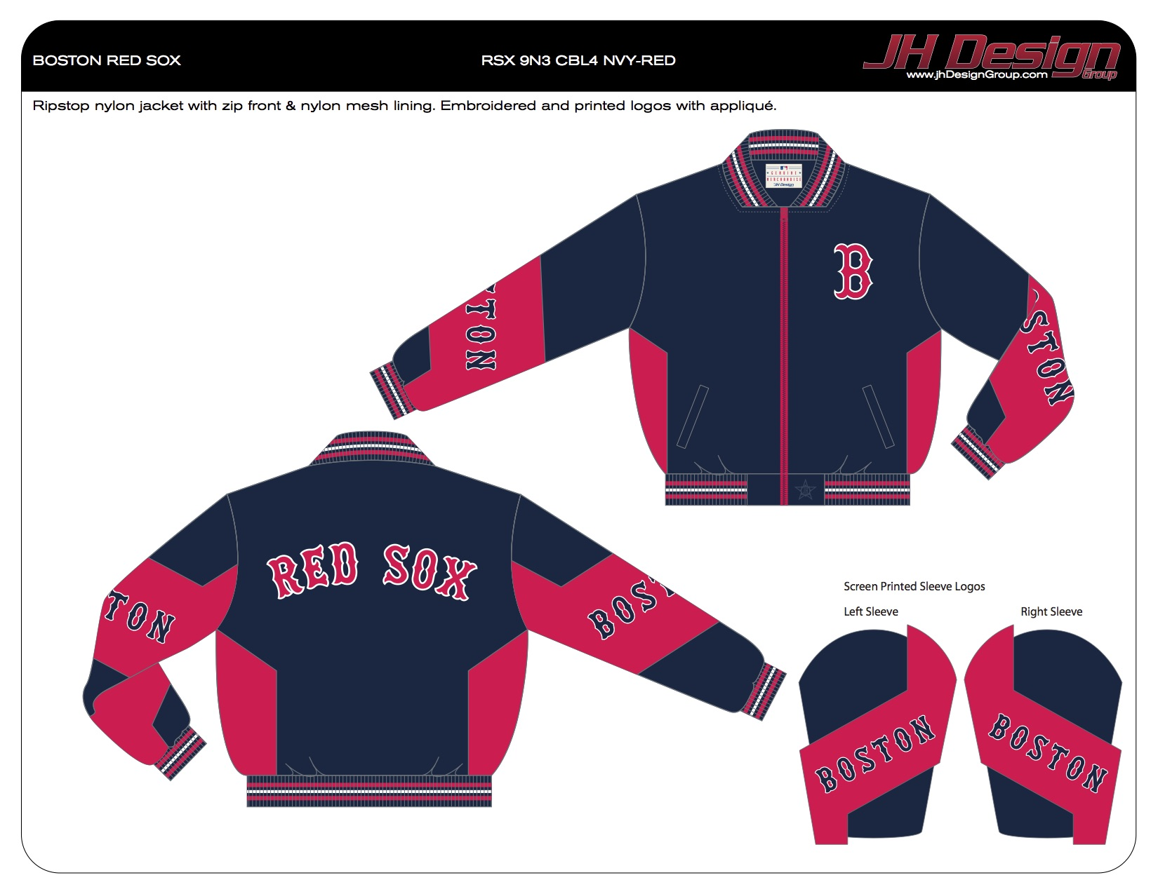RSX 9N3 CBL4 NVY-RED