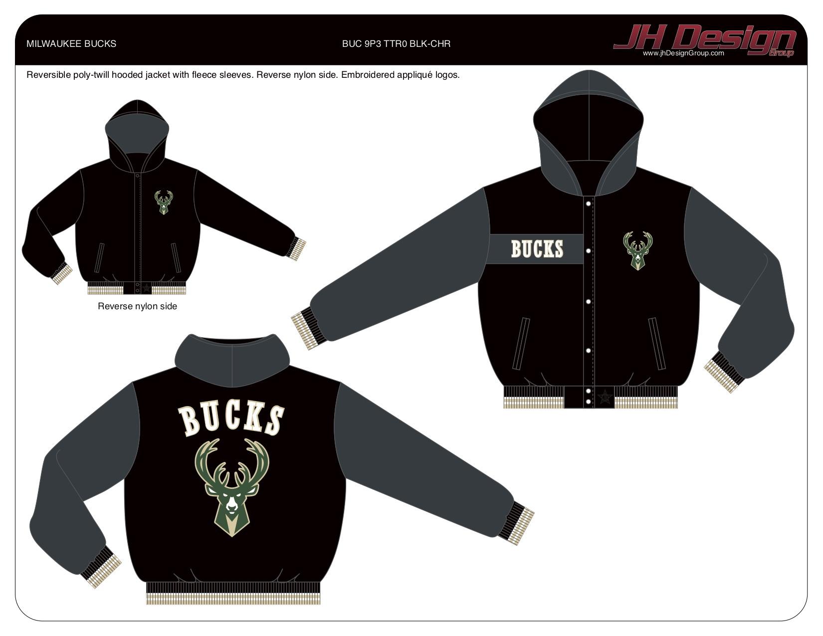 BUC 9P3 TTR0 BLK-CHR