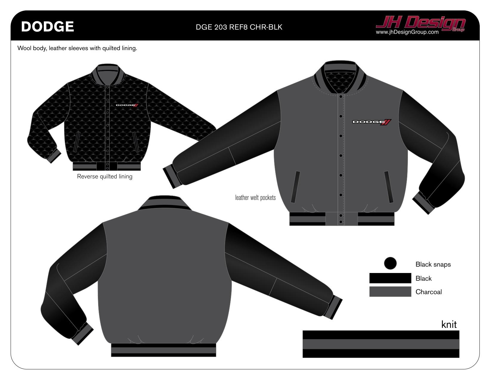 DGE 203 REF8 CHR-BLK