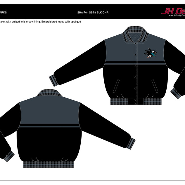 SHA P04 SST8 BLK-CHR