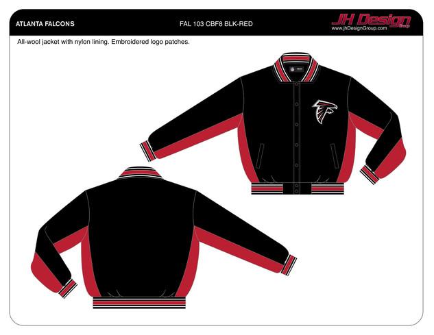 FAL 103 CBF8 BLK-RED