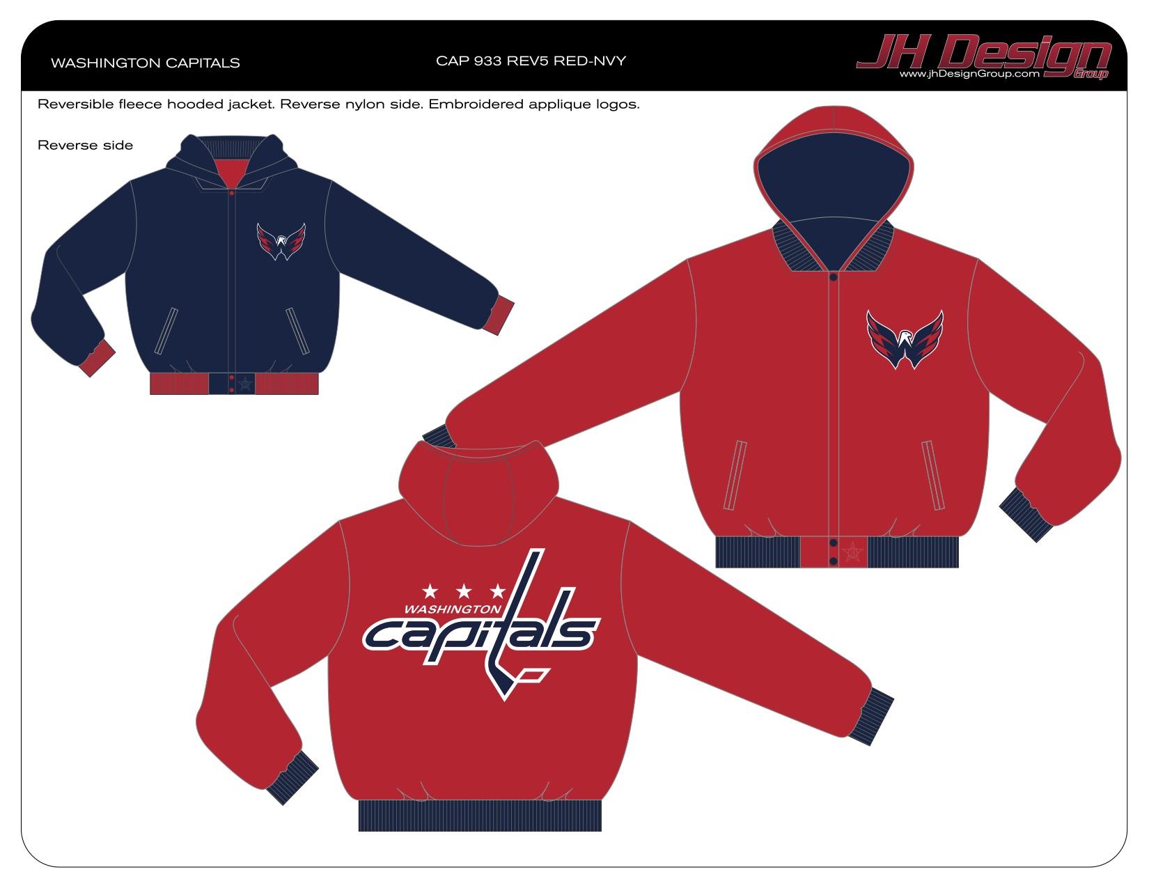 CAP 933 REV5 RED-NVY