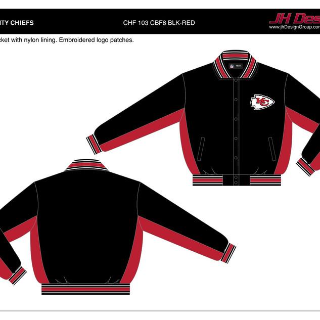 CHF 103 CBF8 BLK-RED