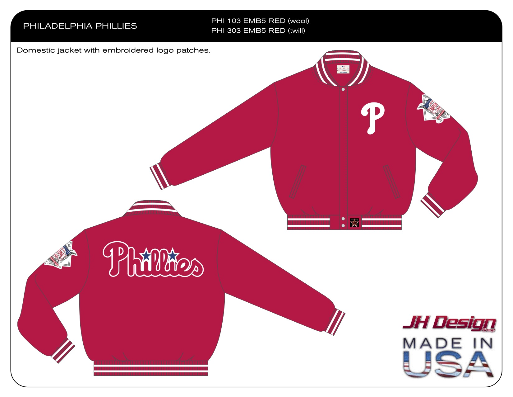 PHI 103 EMB5 RED