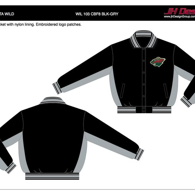 WIL 103 CBF8 BLK-GRY