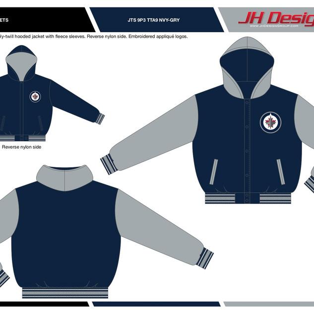 JTS 9P3 TTA9 NVY-GRY