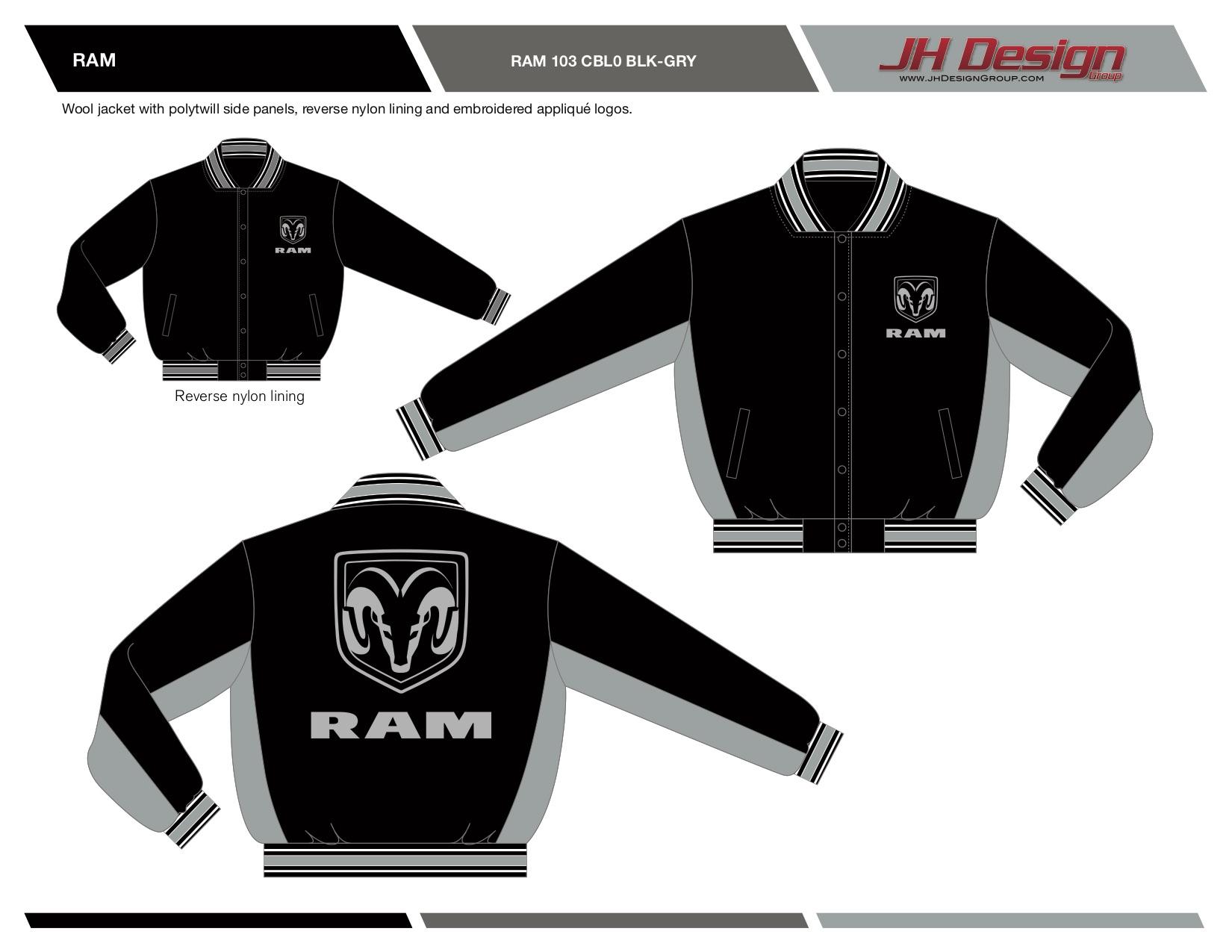 RAM 103 CBL0 BLK-GRY