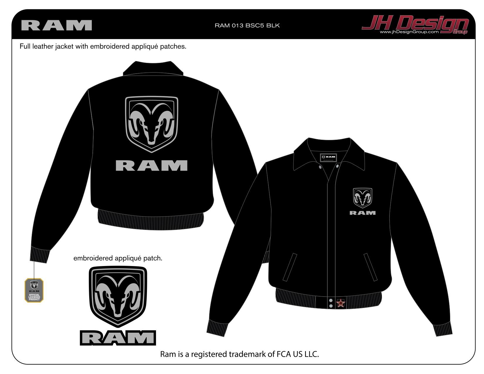 RAM 013 BSC5 BLK