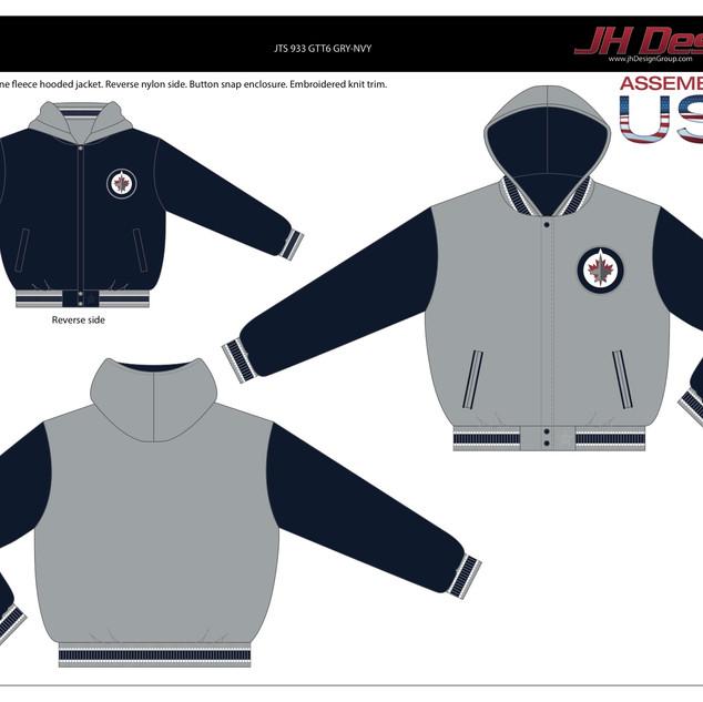 JTS 933 GTT6 GRY-NVY