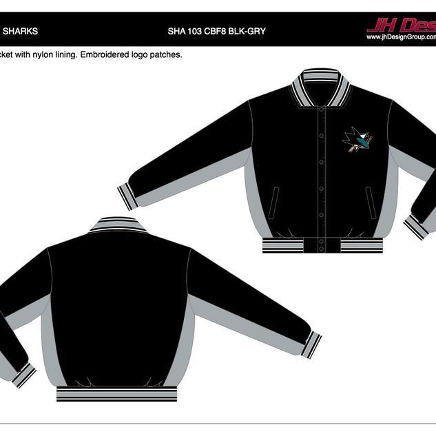 SHA 103 CBF8 BLK-GRY