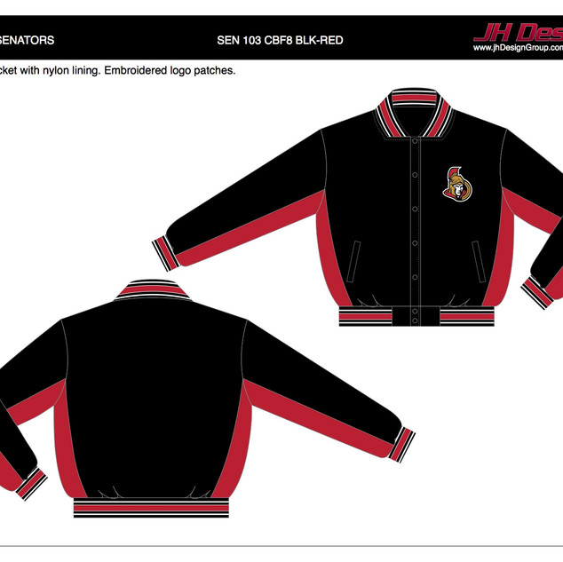 SEN 103 CBF8 BLK-RED