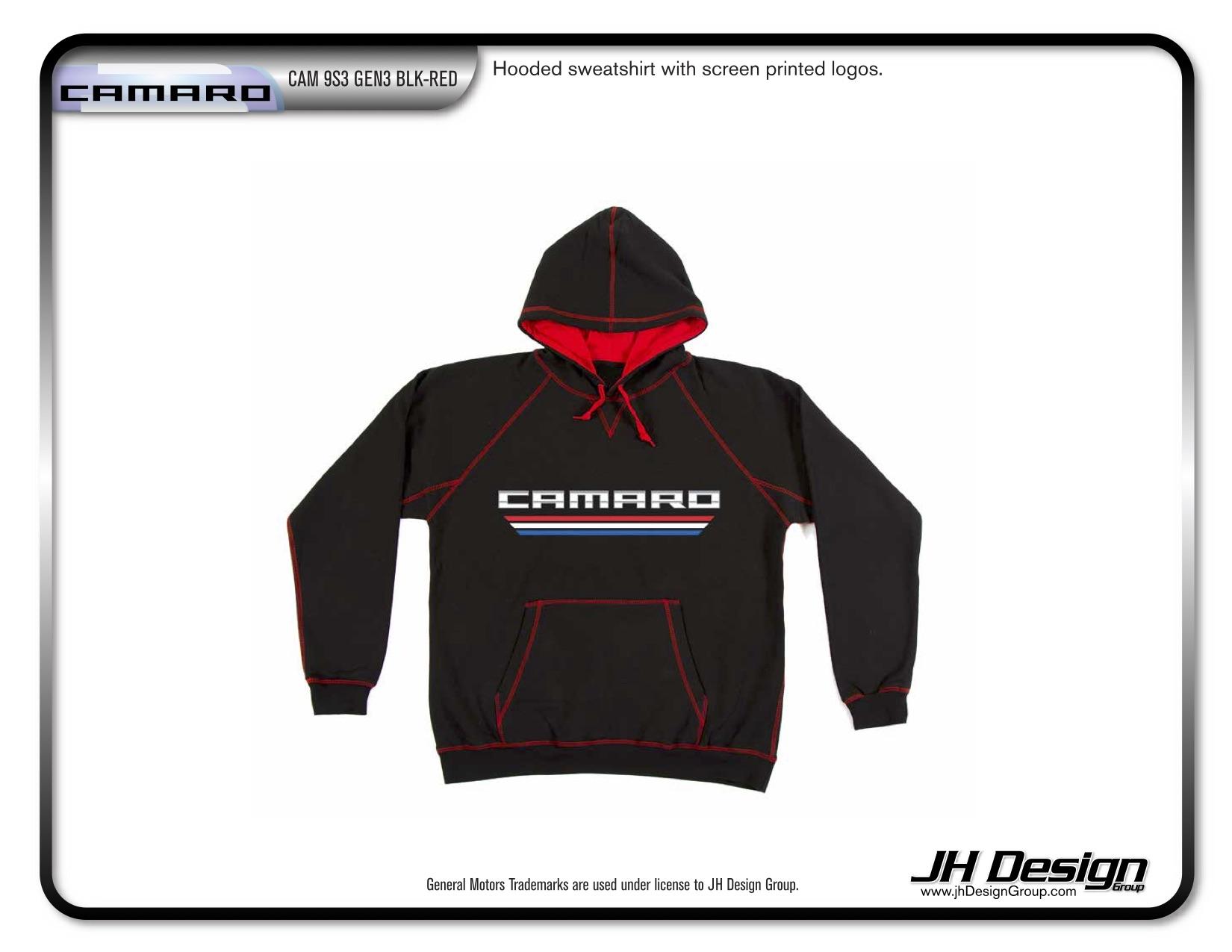 CAM 9S3 GEN3 BLK-RED