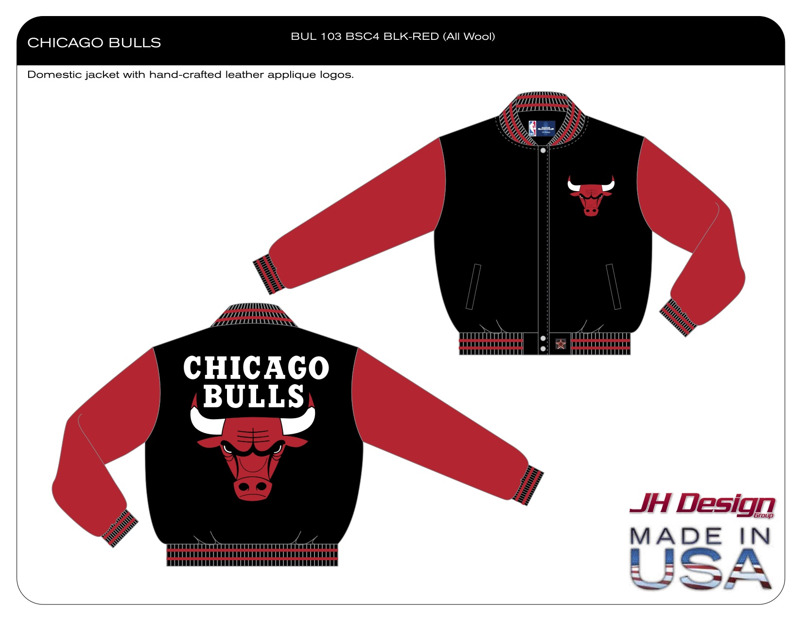 BUL 103 BSC4 BLK-RED