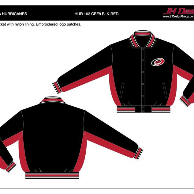 HUR 103 CBF8 BLK-RED
