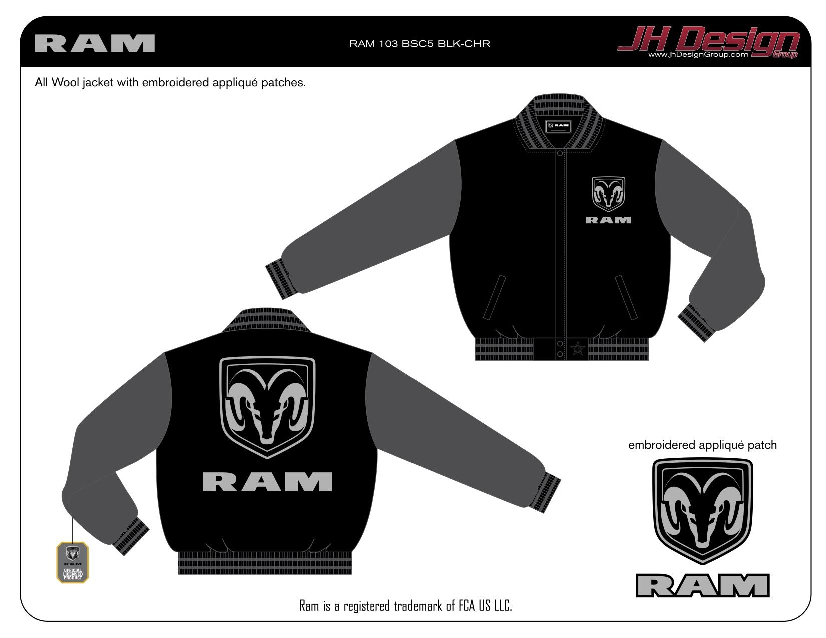 RAM 103 BSC5 BLK-CHR