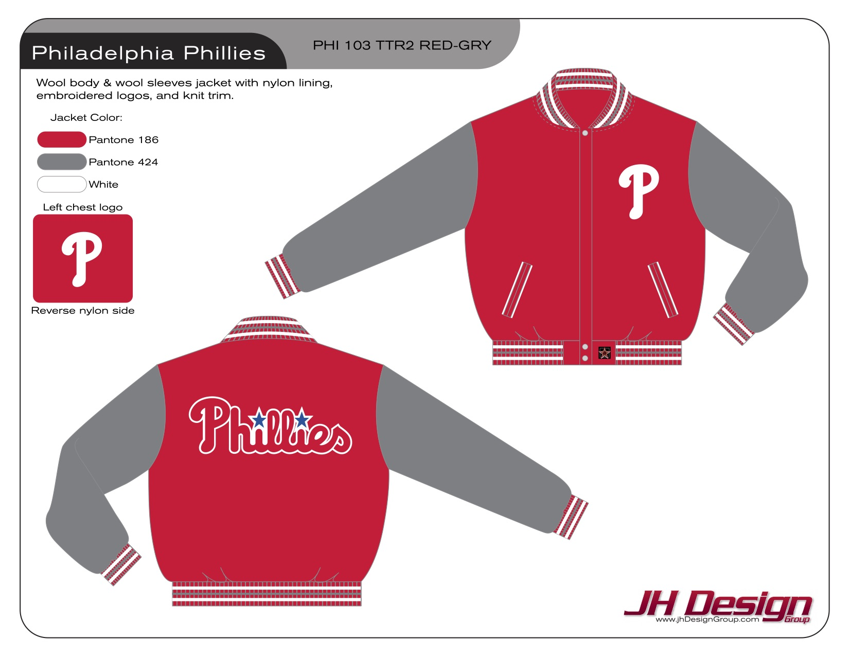PHI 103 TTR2 RED-GRY