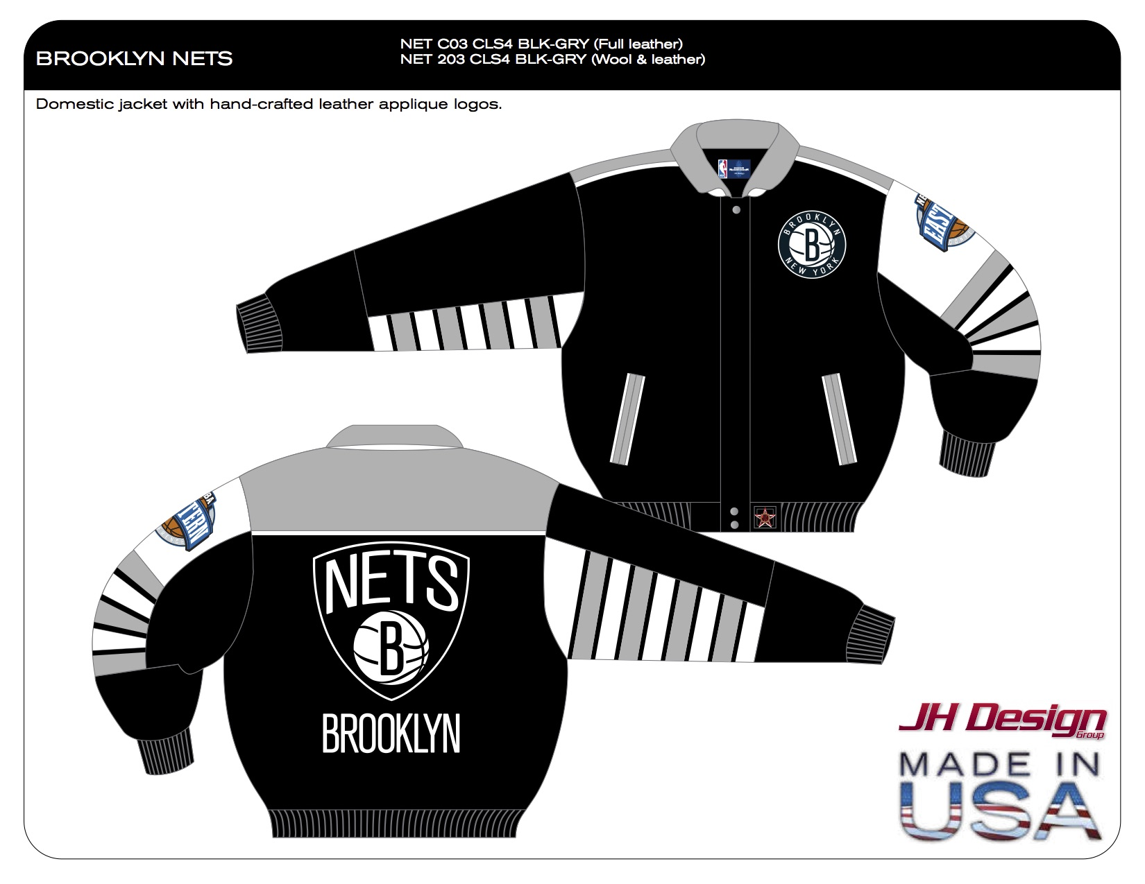NET 203 CLS4 BLK-GRY