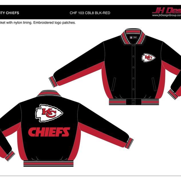 CHF 103 CBL8 BLK-RED