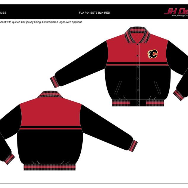 FLA P04 SST8 BLK-RED