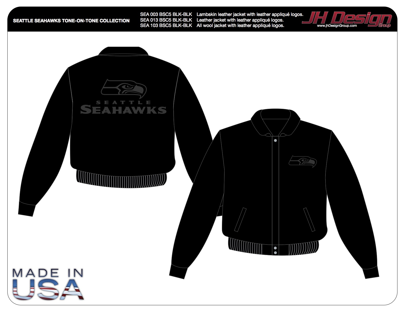 SEA 013 BSC5 BLK-BLK